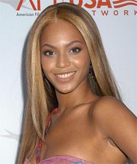 Beyonce Hairstyle, Long and Straight - Celebrity Hairstyles