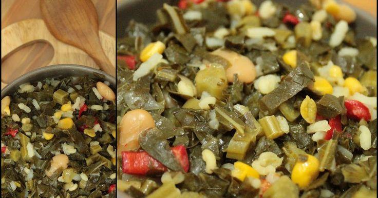 Malzemeler 2 kg.kara lahana 1 adet soğan 1 su bardağı haşlanmış fasülye (barbunya) 1 su bardağı yarma mısır 1 adet kapya biber 1/2 ...