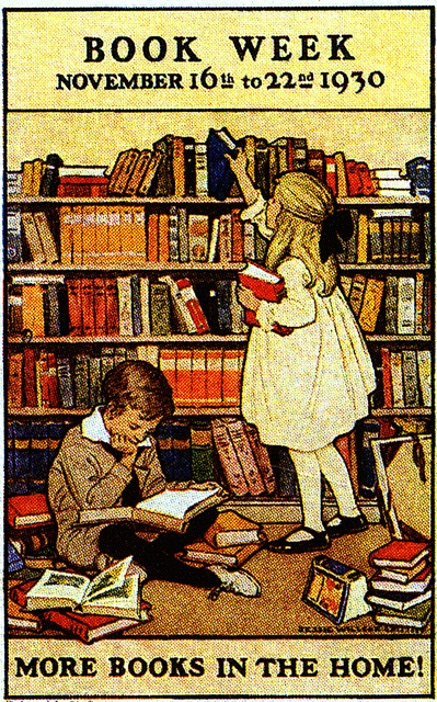 Old poster from Jessie Wilcox Smith