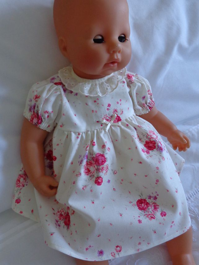 Dolls Clothes, Dress & Panties to fit 18 inch (46cm ) Baby ...