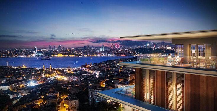 Prestigious city centre apartments in Uskudar Istanbul Asian side