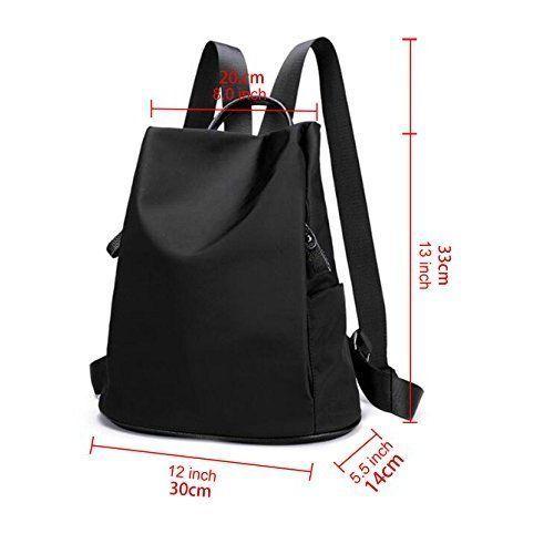 Womens Shoulder Bag Backpack Multifunctional Travel Office Laptop Book Girl NEW #WomensShoulderBagBackpack