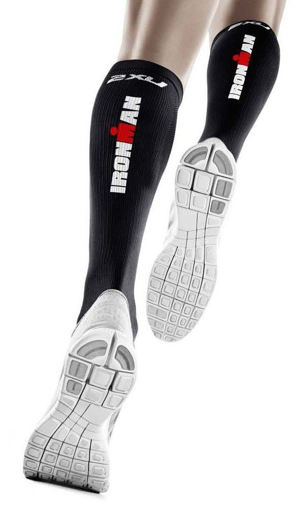 IRONMAN Official Merchandise :: IRONMAN Women's 2XU Compression Recovery Socks - Black