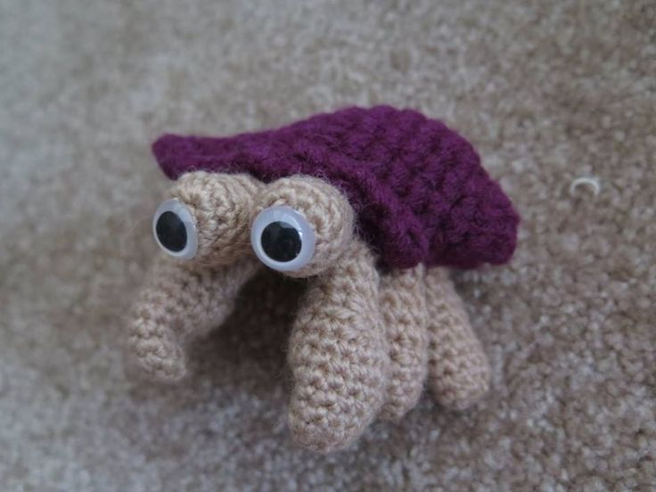 Amigurumi Hermit Crab : 17 Best images about Things I made on Pinterest Lion ...