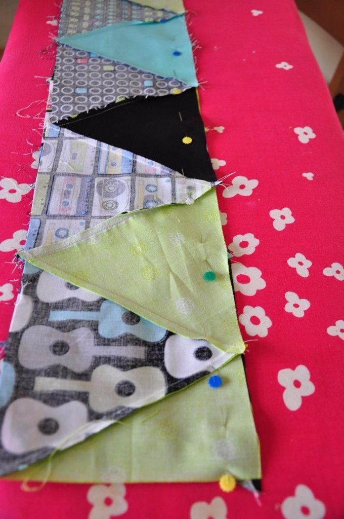 Best 25+ Triangle quilt tutorials ideas on Pinterest   DIY ... : quilting triangles tips - Adamdwight.com