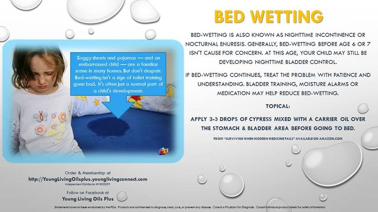 Young Living Essential Oils: Bed wetting, order here http://essentialoilsobsessed.com/order-oils/