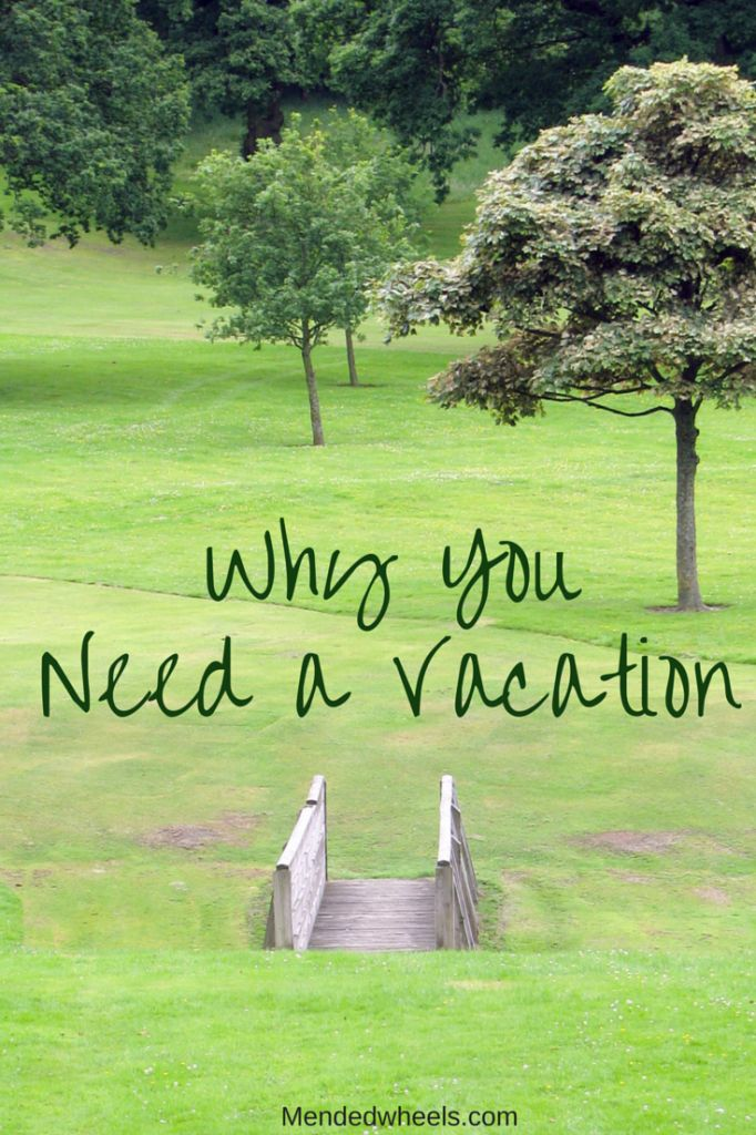 We working women often find ourselves using our vacations for everything but relaxation. A Vacation will help you relax, recharge, and repair your attitude.