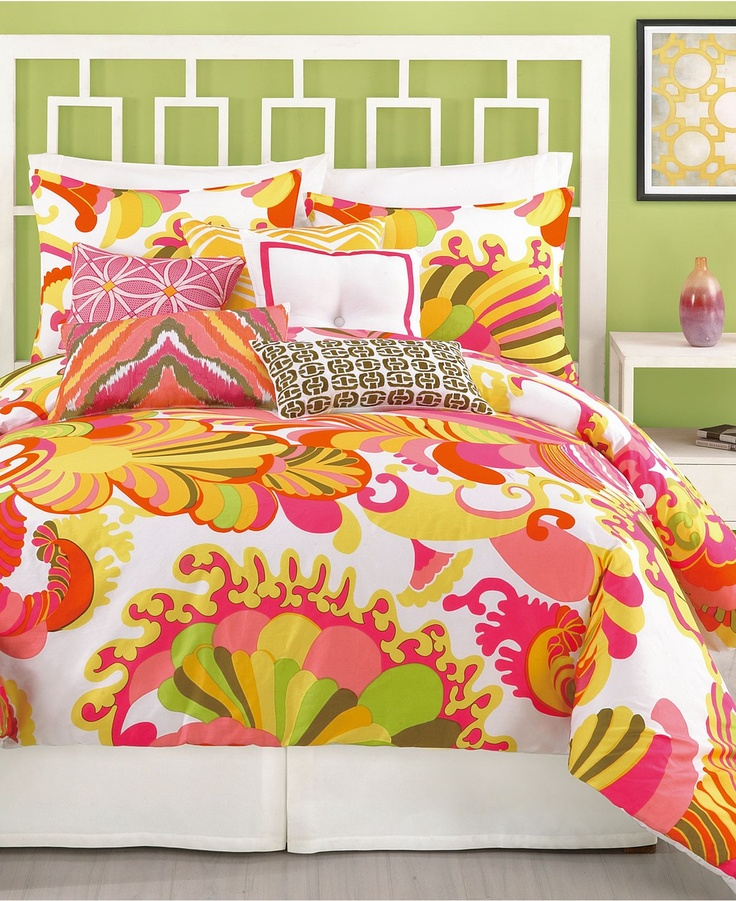 Trina Turk Bedding, Coachella Comforter Sets - Trina Turk - Bed & Bath - Macys