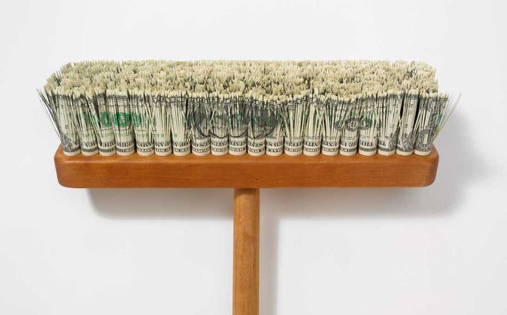 The latest trend in cleaning tools for banks on Wall Street.
