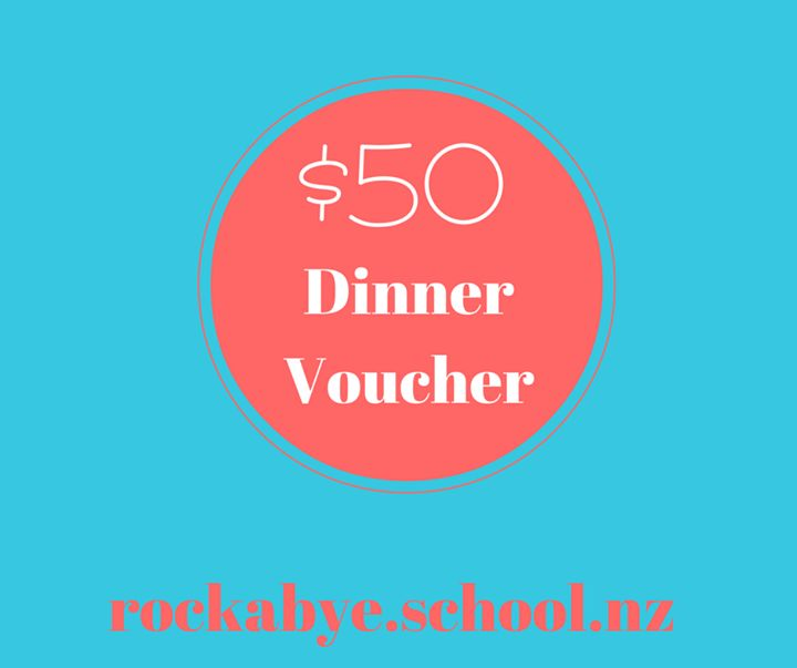 Rockabye wants to thank their existing families for referring their friends/family to us.  If the referred family starts at Rockabye you will receive a $50 dinner voucher to one of our local restaurants.  Thanks for all your on-going support and keep spreading the word.