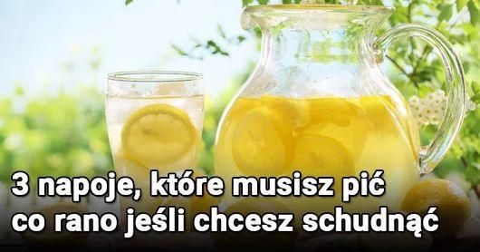 Napoje które pomogą schudnąć