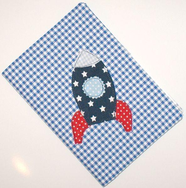 U Hefthülle  Rakete von Blue-Boy auf DaWanda.com
