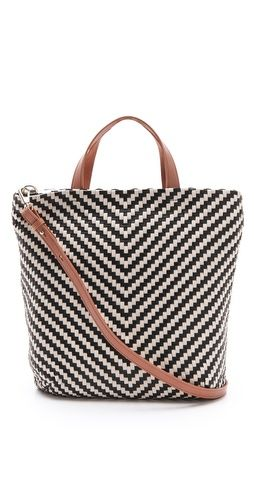 Absolutely love a great chevron bag!