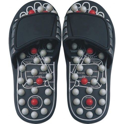 REFLEXOLOGY SANDALS. Created to heal your body through your feet. Contains nodules that apply pressure to your feet soles that encourage full body wellness. It eliminates stress and reduce neck and shoulder tension. Anti-microbial materials to eradicate foot odor. Reflexology is taking more importance due to the results of overall healing in your body.