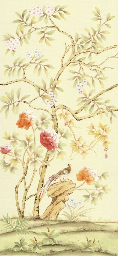 56 best chinoiserie images on Pinterest | Chinoiserie wallpaper ...