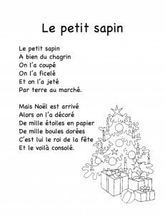 Le-petit-sapin Christmas poems