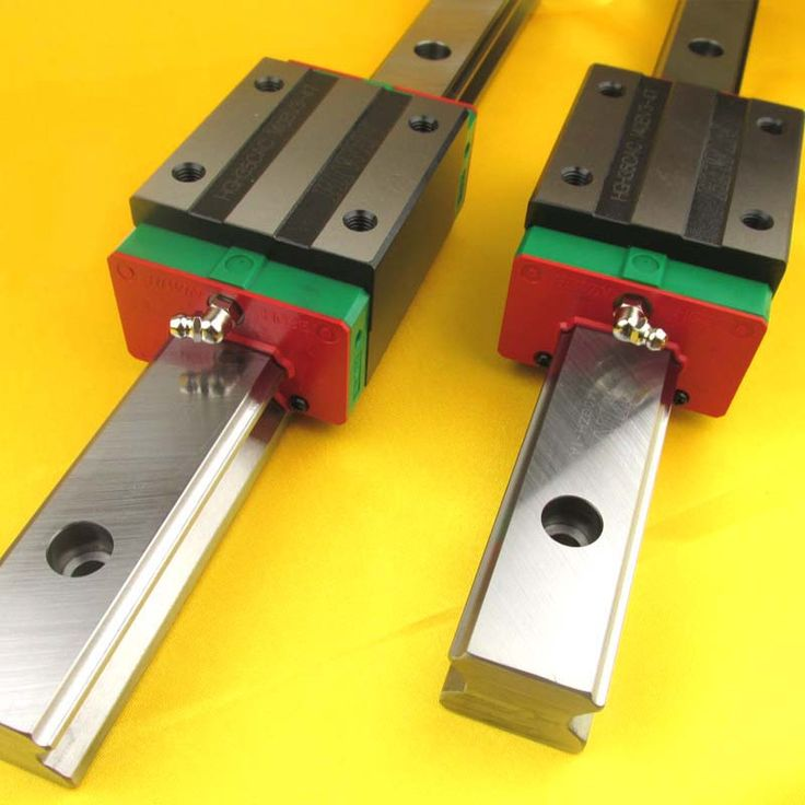 New HIWIN HGR25 Linear Guide Rail 300mm With 2Pcs Of Linear Block Carriage HGH25CA HGH25 CNC Parts //Price: $175.82//     #shop