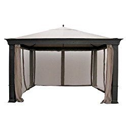 Garden Winds Tiverton (Series 3) Gazebo Replacement Canopy – Riplock 350