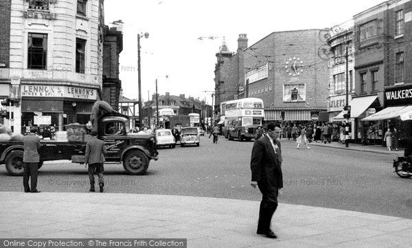 St Helens, Ormskirk Street c.1958, from Francis Frith