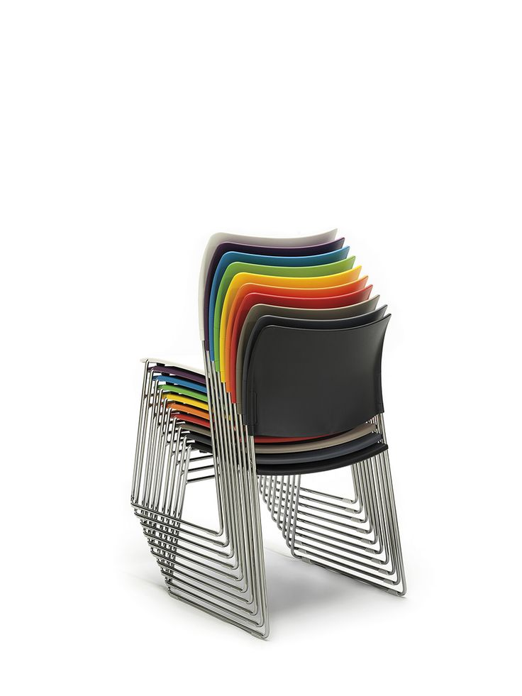 A High Density Stacking Chair Which Fits Comfortably Through A Standard Doorway With Up To 40