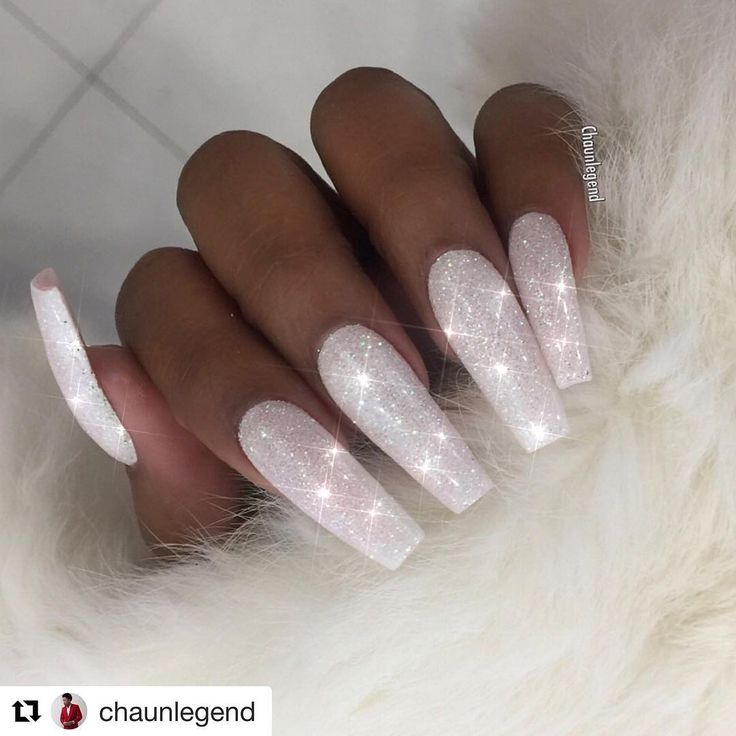 That moment when @chaunlegend used the glitter you sent him and he loves it as much as you knew he would !!! #whiteholographicglitter ・・・ Winter White Diamonds ❄️ Glitter from @lovelecente