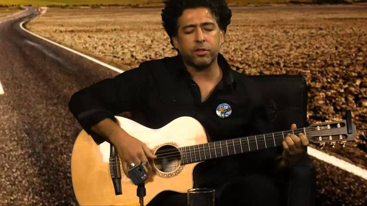 Manuel García, cantautor chileno, en Ruta de escape. Rompeviento TV. 12/...