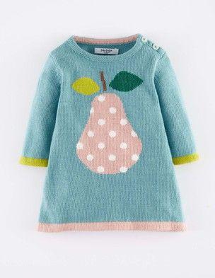 fruity knit dress...
