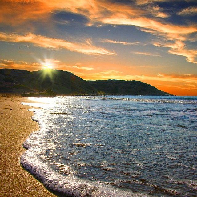 Acqua e tramonto...la perfezione