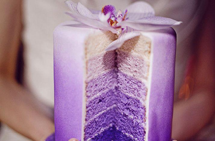 Ideas, Shades Of Purple, Purple Wedding Cake, Ombre Cake, Wedding Cakes, Purple Cakes, Layered Cake, Birthday Cake, Weddingcake