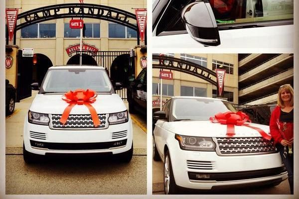 JJ Watt apparently DID know what he wanted to spend part of his six year, $100 Million dollar contract on. Watt, gave his mom a car with a red bow on top for her birthday. Just like in all the commercials he saw when growing up.   (via Bleacher Report)
