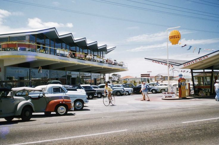 This is the Gold Coast in the early 1960s when it was an emerging tourist hot spot, now ruined by sky scrapers and poor town planning