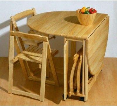Las 25 mejores ideas sobre mesas de comedor plegables en - Mesas pequenas plegables ...