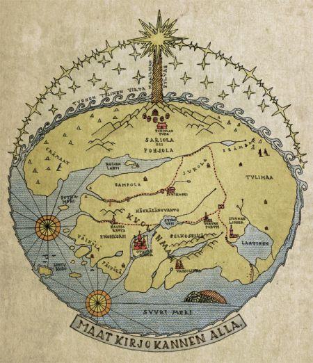 Maat_Kirjokannen_Alla_web, metsäseikkailularppikartta :)