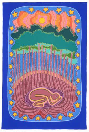 Sally Morgan's Art; 'Earth as Mother'
