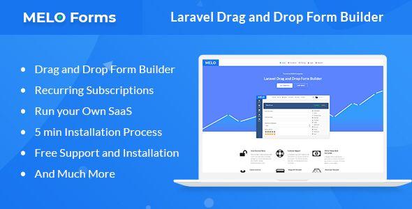 MeloForms - Laravel Drag and Drop Form Builder Software | Design
