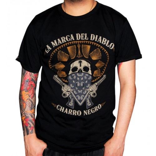 La Marca del Diablo - Charro Negro Polera $22091