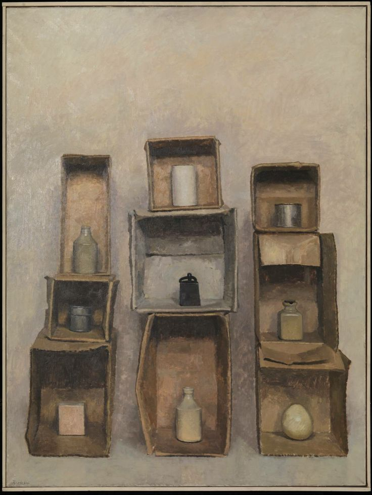 Charles Hardaker, 'Still Life: Vertical Structures, Three Times Three' 1965
