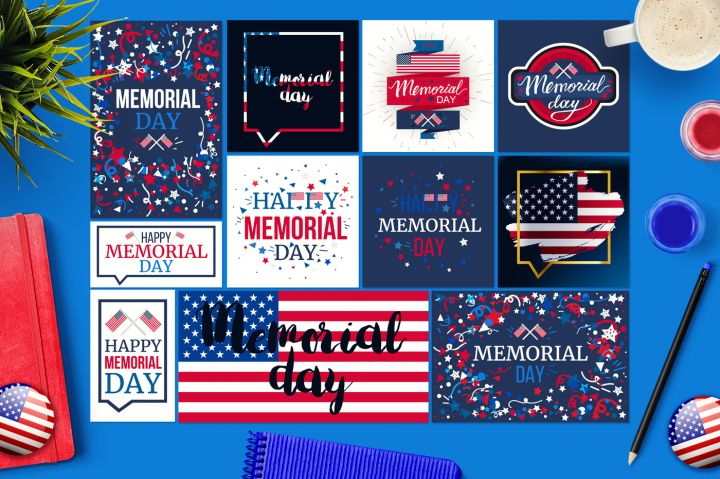 Memorial Day Banners By Barsrsind Shop