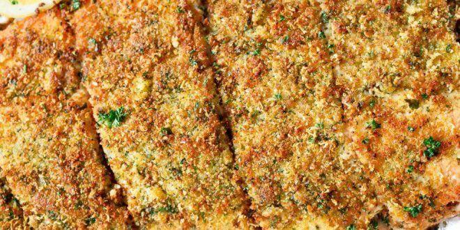 Parmesan+Peynirli+Çıtır+Somon+Tarifi