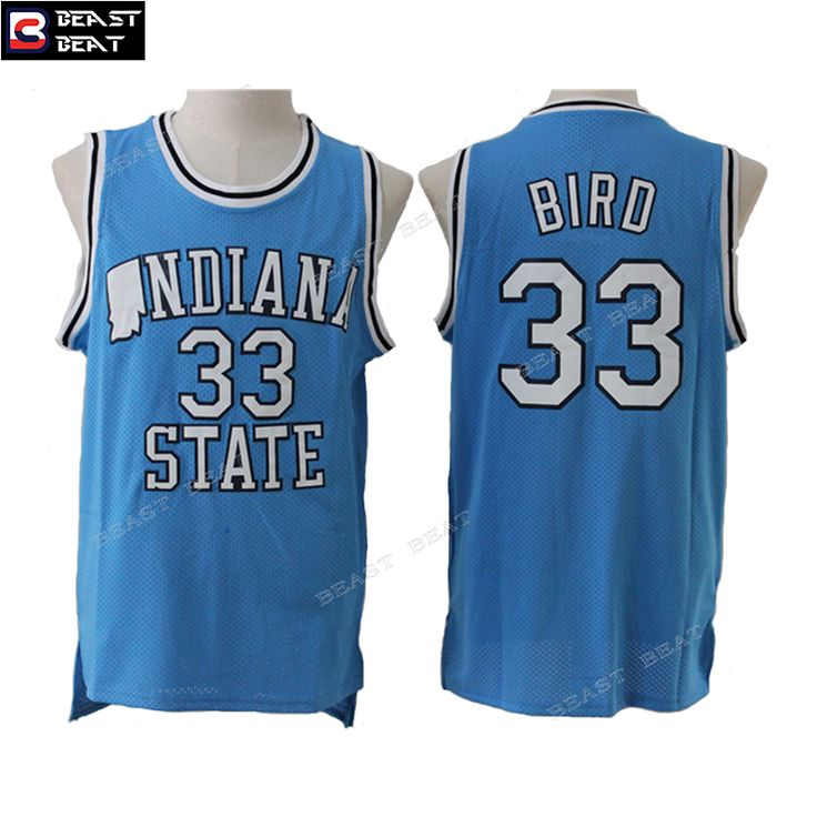 info for 88406 6ed47 spain ncaa basketball jerseys indiana state sycamores 33 ...