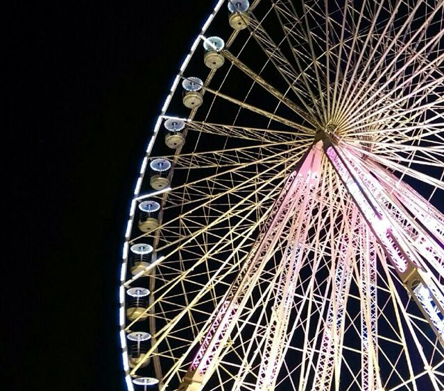 #marseille #roue #night  #love #pink #gold