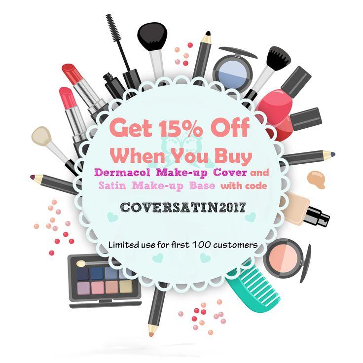 #dermacolfoundation #satinmakeupbase #springsale #beauty #cosmetics #dermacol