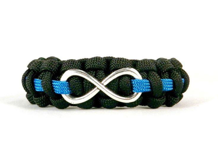 Infinity Loop bracelet for Police Officers Wives/Girlfriends