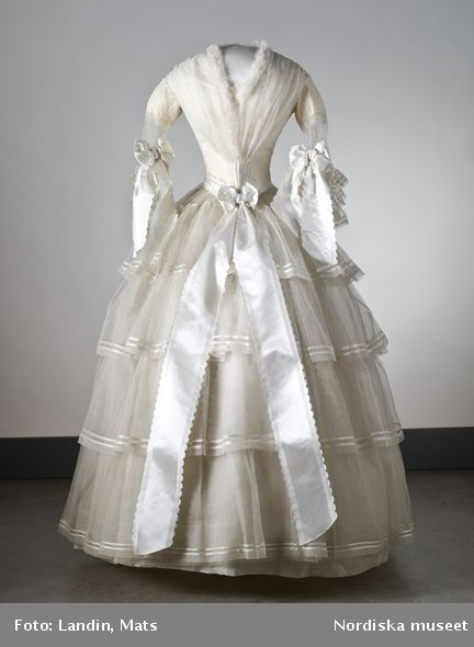 70 best 19th century design images on pinterest belle for Swedish wedding dress designer
