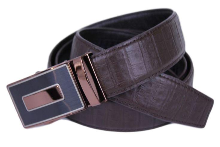 Mooniva luxury edition mens ratchet leather belt bbp003