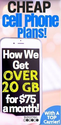 Cheap Cell Phone Plans. How We Get oVer 20GB of Data For Only $75/Month! Save Money | Frugal Living |Cheap  Phone Plans | #phoneplans #savemoney #budgetingcouple