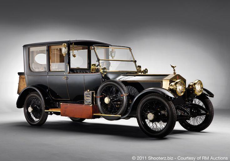 Rolls-Royce 40-50hp Silver Ghost Limousine 2BD -1915 .