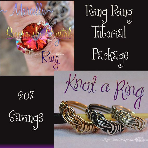 Tutorial to make knotted rings