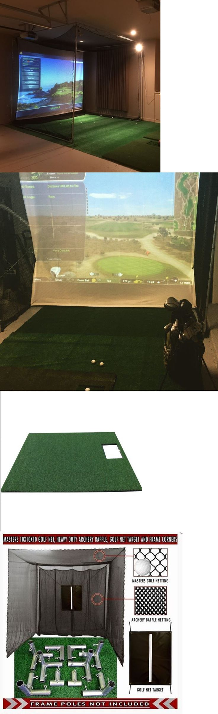 Swing Trainers 83037: Optishot 2 Complete Golf Simulator System With New Benq Projector BUY IT NOW ONLY: $2078.0