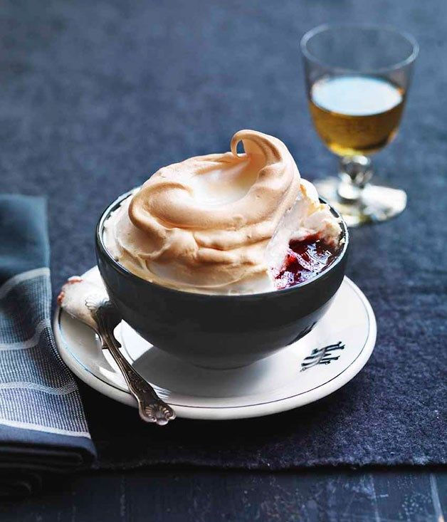 Queen of Puddings recipe :: Gourmet Traveller